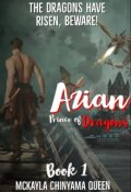 """Book cover """"Azian Prince of Dragons book 1"""""""