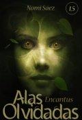 """Portada del libro """"Alas Olvidadas. Encantus (libro 1,5)"""""""
