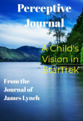 """Book cover """"A Child's Vision in Star Trek"""""""