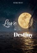 "Book cover ""Love or Destiny """