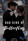 """Book cover """"Bad Kind Of Butterflies """""""