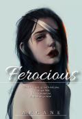 """Book cover """"Ferocious"""""""