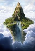 """Book cover """"The floating castle"""""""