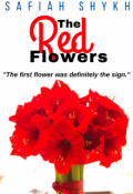 """Book cover """"The Red Flowers"""""""