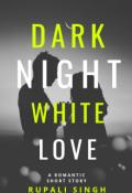 """Book cover """"Black Night White Love"""""""