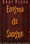 """Portada del libro """"Enigma de Sangre"""""""