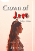 """Book cover """"Crown of Love"""""""