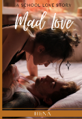 """Book cover """"Mad Love"""""""