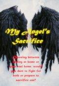 "Book cover ""My Angel's sacrifice"""
