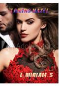 "Book cover ""Taming Hazel"""