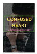 """Book cover """"Confused Heart"""""""