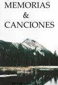 """Portada del libro """"Memorias & Canciones"""""""