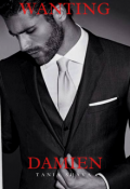 """Book cover """"Wanting Damien"""""""