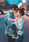 """Book cover """"Forget me not"""""""