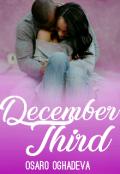 "Book cover ""December Third"""