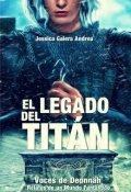 """Portada del libro """"El Legado del Titán"""""""