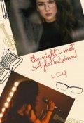 "Book cover ""The night I met Ayla Quinn!"""