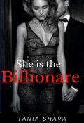 """Book cover """"She is the Billionaire"""""""