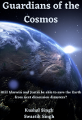 """Book cover """"Guardians of the Cosmos"""""""