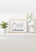 """Book cover """"A Promise"""""""