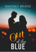 """Book cover """"Out of the blue"""""""