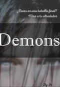 """Portada del libro """"Demons (libro I. Y Cayeron)"""""""