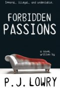 """Book cover """"Forbidden Passions """""""