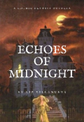"""Book cover """"Echoes of Midnight"""""""