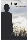 "Book cover ""She"""