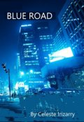 """Book cover """"Blue Road"""""""