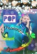 """Book cover """"America's pop princess"""""""