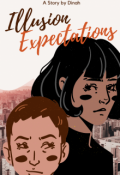 """Book cover """"Illusion Expectations"""""""