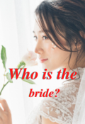 """Book cover """"Who is the bride?"""""""