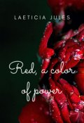 """Book cover """"Red, a Color of Power"""""""