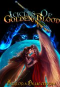 """Book cover """"Icicles Of Golden Blood"""""""