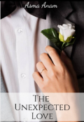 """Book cover """"The Unexpected Love"""""""