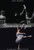 """Portada del libro """"Because of you"""""""