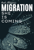"""Book cover """"Migration : She Is Coming"""""""