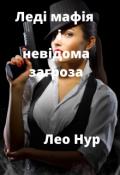 """Обкладинка книги """"Леді мафія і невідома загроза"""""""