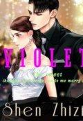 "Book cover ""V I O L E T"""