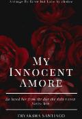 """Book cover """"My Innocent Amore"""""""