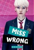 """Portada del libro """"Miss Wrong"""""""
