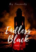 """Book cover """"Endless Black (part 2)"""""""