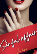 """Book cover """"Sinful Affair """""""