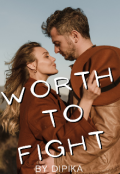 """Book cover """"Worth to Fight """""""