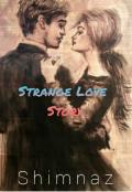 "Book cover ""Strange Love Story"""
