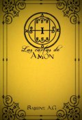 """Portada del libro """"Las cartas de Amon."""""""