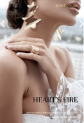 """Book cover """"Heart's fire 3"""""""