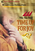"""Book cover """"Help Your Peace, Time Up For Joy"""""""
