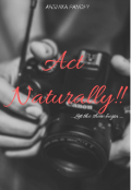 """Book cover """"Act Naturally!!"""""""